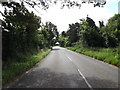 TM0378 : Entering Redgrave on the B1113 Redgrave Road by Adrian Cable