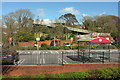 SX8759 : Car park and bridge, Sainsbury's Paignton by Derek Harper