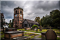 SJ7474 : St Oswald's Church, Lower Peover by Brian Deegan