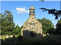 SK0917 : Ridware Theatre was once St James' Church at Pipe Ridware by Peter Wood