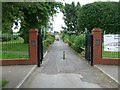 SK5845 : Gateway to King George V Recreation Ground by Alan Murray-Rust