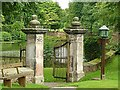 SJ8969 : Churchyard gateway, Gawsworth : Week 32