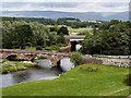 NY5329 : Bridges over the Eamont by David Dixon