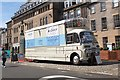 NT2473 : Vintage Mobile Cinema, Edinburgh Fringe by Jim Barton