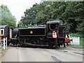 TL1597 : Steam loco at Ferry Meadows on the Nene Valley Railway by Paul Bryan