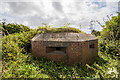 SJ3271 : North Wales WWII defences: RAF Sealand, Shotwick -  pillbox (4) by Mike Searle