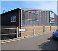 SZ1593 : Graham Plumbers Merchants, Avon Trading Park, Christchurch by Jaggery