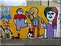 H4572 : Colourful mural, Omagh : Week 34