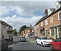 TG0922 : Market Place, Reepham by Adrian Cable