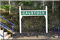 SX4368 : Calstock Station Sign by N Chadwick