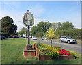 SP8310 : Stoke Mandeville Sign by Des Blenkinsopp