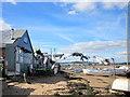 SX9980 : Exmouth Beach Rear of Camperdown Terrace : Week 38