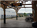 SN5881 : Waiting for the 13.30 train at Aberystwyth by John Lucas