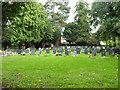 SO8962 : Droitwich cemetery, recent burials by Jeff Gogarty