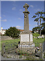 ST4457 : Shipham war memorial by Neil Owen