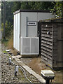 TM1585 : Gissing Level Crossing Equipment Room by Adrian Cable