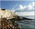 TV4898 : Cliffs at Seaford Head : Week 41