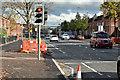 J3574 : EWAY works, Albertbridge Road, Belfast - October 2016(1) by Albert Bridge