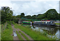 SD5507 : Narrowboats moored on the Leeds and Liverpool Canal by Mat Fascione
