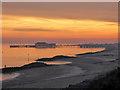 TM1714 : Clacton Pier at sunset : Week 44