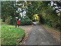 SJ7573 : Elizabeth II postbox on Holmes Chapel Road by JThomas