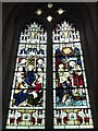 TL6370 : SS Peter & Mary Magdalene, Fordham: stained glass window (4) by Basher Eyre