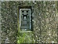 SK7628 : OS Flush bracket S4911, Eastwell trigpoint by Alan Murray-Rust