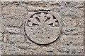 TF0705 : Barnack, St. John the Baptist Church: The Saxon sundial 2 by Michael Garlick