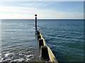 SZ1490 : Groyne, Southbourne beach : Week 45