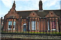 TR1557 : Coopers Almshouses by N Chadwick