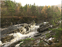 NH3963 : Falls on the Black Water by Julian Paren