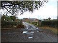 SJ5651 : Entrance to Wallstone Farm by JThomas