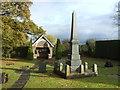 SJ5751 : Bateman Memorial Chapel and memorial, Chorley by JThomas