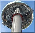 TQ3004 : Observation Pod, i360, Brighton by Simon Carey