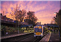 J3373 : Train, Botanic Station, Belfast by Rossographer