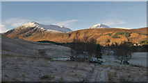 NH3154 : The start of the estate track from Strathconon to Glen Orrin by Julian Paren