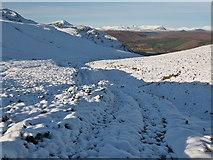 NH3252 : Estate track from Strathconon to Glen Orrin by Julian Paren