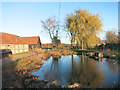 SU7986 : Pond at Rotten Row by Des Blenkinsopp