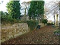 SK7018 : Garden wall to the Old Rectory by Alan Murray-Rust