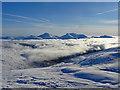 NN5425 : Winter Hills by Adam Ward