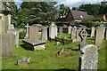 TQ5045 : Graveyard, Church of St Mary by N Chadwick