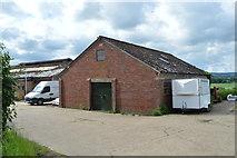 TQ5045 : Out building, Larkin's Farm by N Chadwick