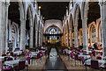 TL1998 : Interior, St John the Baptist church, Peterborough by Julian P Guffogg