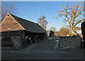 TL4647 : Whittlesford: outbuildings at Markings Farm by John Sutton