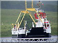 NS0274 : Bute ferry arriving at Colintraive by Alex Passmore