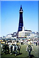 SD3035 : Blackpool Beach & Tower, Lancashire 1971 by Ray Bird