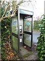 SP9004 : KX100 Telephone Kiosk at Lee Common by David Hillas