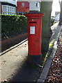 SP3378 : George VI postbox on Manor Road, Coventry by JThomas
