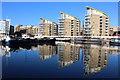 TQ3681 : Limehouse basin : Week 49