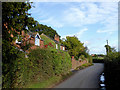 SJ6642 : Recent housing in Bagley Lane south of Audlem, Cheshire by Roger  Kidd